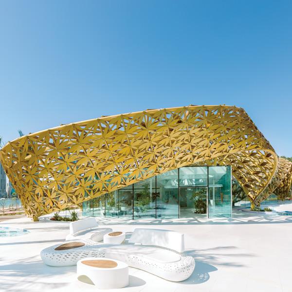 Butterfly Pavillion | Noor Island Sharjah by 3deluxe transdisciplinary design
